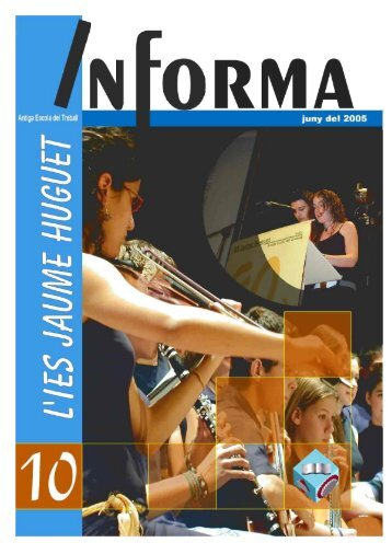 Revista Informa n. 10, juny 2005 - Institut Jaume Huguet
