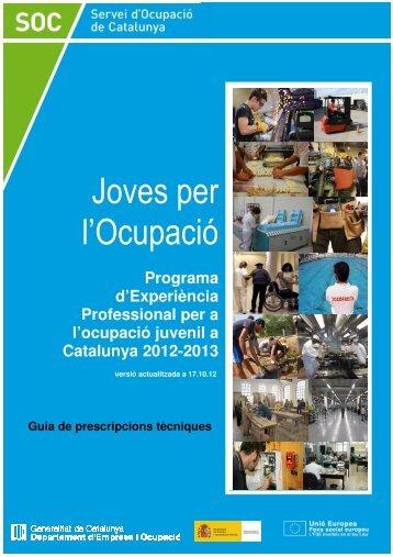 Guia_prescripcions_tecniques_JPO17_10-12 - Servei d'Ocupació ...