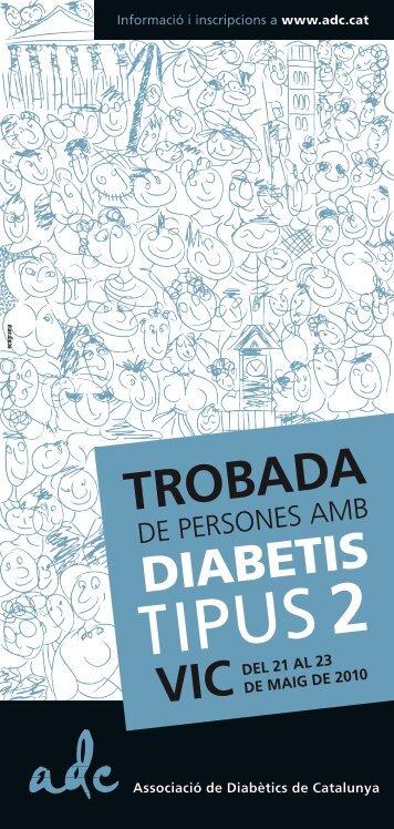 veure tríptic - Associació de Diabètics de Catalunya