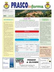 numero 9/2007 (PDF 791 kb) - Comune di Prasco