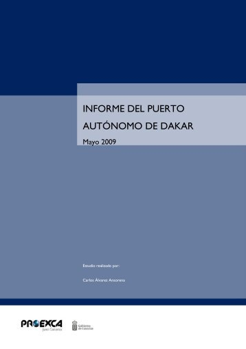 090309 Informe puerto de Dakar - Proexca