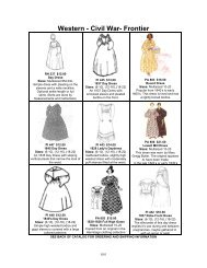 Civil War BASIC FITTED BODICE Pagoda Sleeves Timeless Stitches PATTERN TSB-100