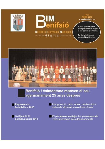 BIM ABRIL 2013.qxd - Ayuntamiento de Benifaió