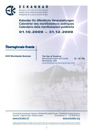 Kalender für öffentliche Veranstaltungen ... - Eckankar Schweiz
