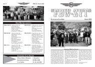 ''FBW-ZYT'' DIE AKTUELLEN CLUB-NEWS HERBST 2005 - Fbw-Club