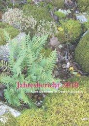 Jahresbericht 2010 - Alterszentrum im Geeren