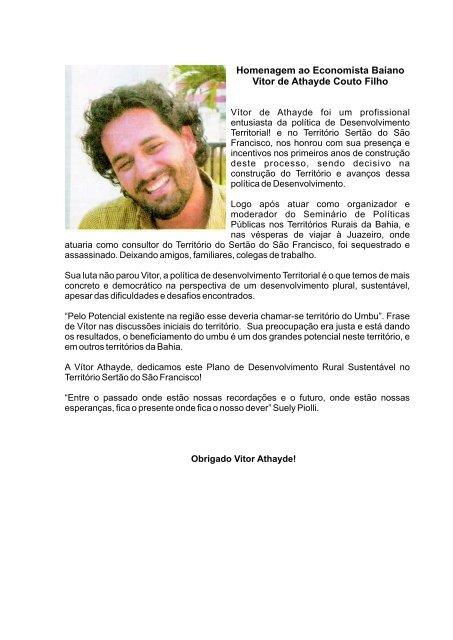 MIOLO SEGURANÇA.cdr - SIT - Sistema de Informações Territoriais ...