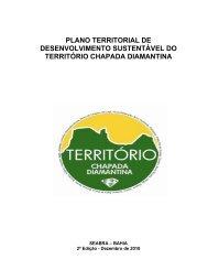 Plano Territorial de Desenvolvimento Sustentável do Território