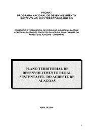 ANEXO I - SIT - Ministério do Desenvolvimento Agrário