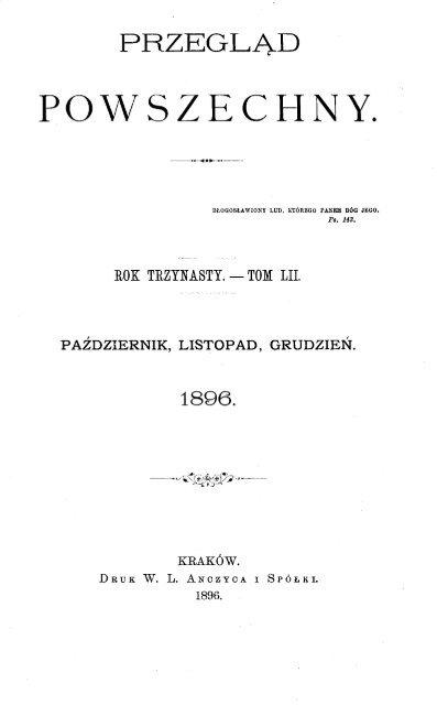 1896 Przegląd Powszechny