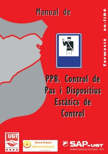 PPB. Control de Pas i Dispositius Estàtics de Control Manual de ...