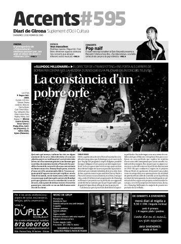 La constància d'un pobre orfe - Diari de Girona