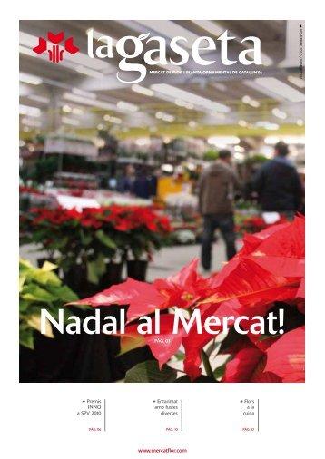Nadal al Mercat! - Mercat de Flor i Planta Ornamental de Catalunya