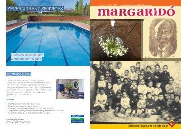 Margaridó nº5 - any 2012 (7150.9 kb - pdf) - Sant Martí Sesgueioles