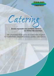 Catering - Haus Seeblick, Rorschacherberg