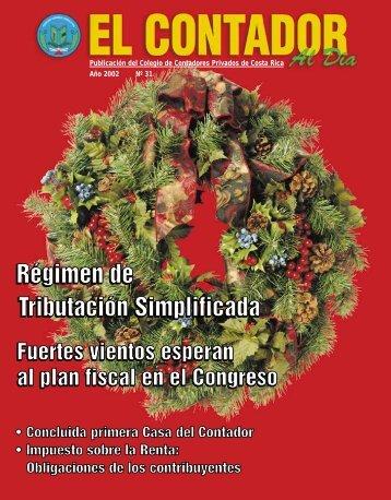 """Revista """"Contador al Día"""" Edición 31"""