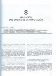 APLICACiÓN: LOS COSTES DE LA TRIBUTACION