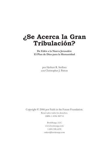 español - Acerca la Gran Tribulacion 2008-2015