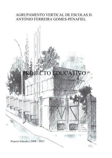 projecto educativo - Agrupamento de Escolas D. António Ferreira ...