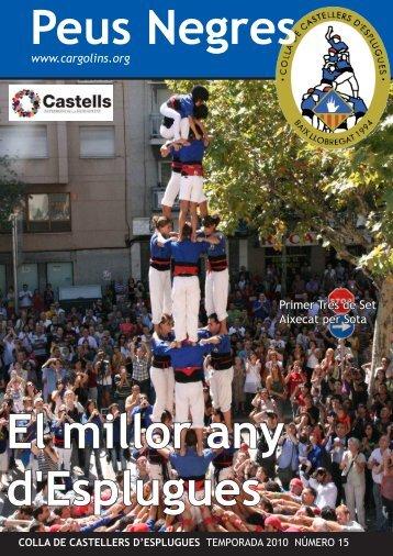 Peus Negres 12 - Colla de Castellers d'Esplugues