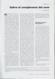 Sobre el complement del nom - Institut d'Estudis Catalans