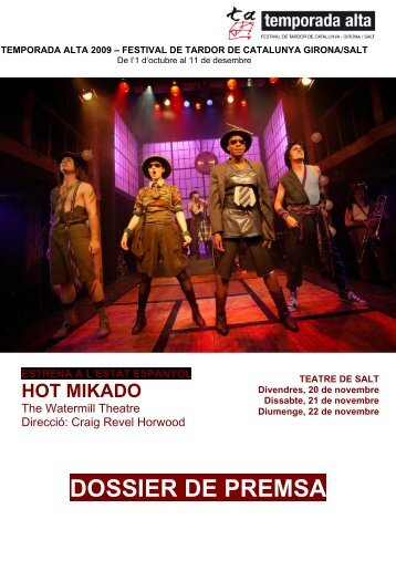 Dossier de premsa del Hot Mikado. - El Punt/Avui