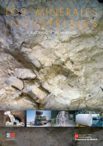 Los minerales industriales - Comunidad de Madrid