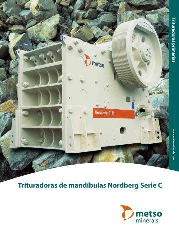 Trituradoras de mandíbulas Nordberg Serie C (932 KB) - Matco