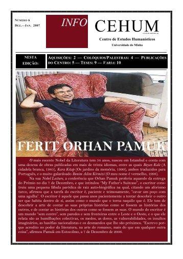 FERIT ORHAN PAMUK - cehum - Universidade do Minho
