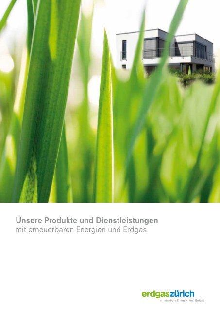 Imagebroschüre (PDF, 2.2 MB) - Erdgas Zürich AG