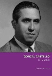 1912-2003 Gonçal Castelló - Fundació Josep Irla