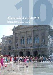 Assicurazioni sociali 2010. Rapporto annuale conformemente all ...