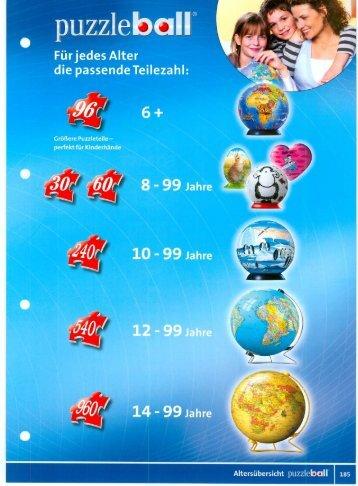 Ravensburger Puzzle-Ball Katalog 2008