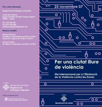 Programa d'actes - Ajuntament de Lleida