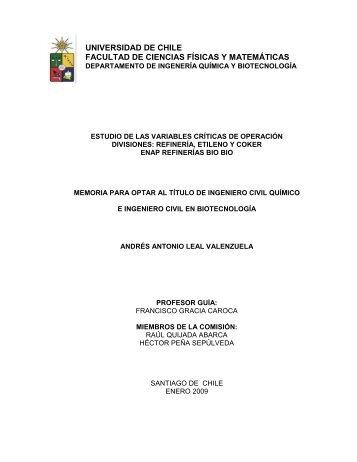 ÍNDICE DE CONTENIDOS - Tesis Electrónicas Universidad de Chile