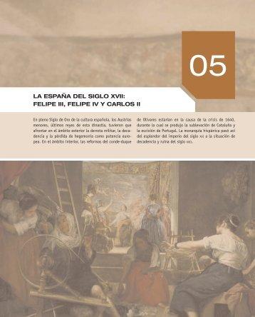 XXX LA ESPAÑA DEL SIGLO XVII: FELIPE III, FELIPE ... - McGraw-Hill