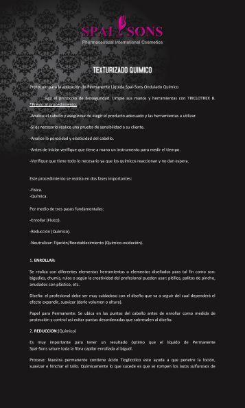 Ondulado Químico - Spai - Sons