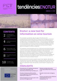 Enotur: a new tool for information on wine tourism - Parc Científic i ...