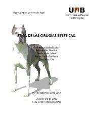 ÉTICA DE LAS CÍRUGIAS ESTÉTICAS - Dipòsit Digital de ...