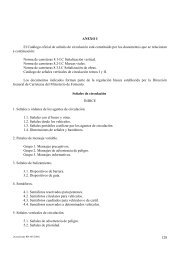 128 ANEXO I El Catálogo oficial de señales de circulación está ...