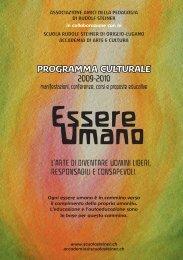 Essere Umano - Scuola Rudolf Steiner
