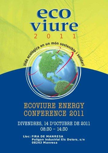 Programa Ecoviure - Clúster d'Eficiència Energètica de Catalunya