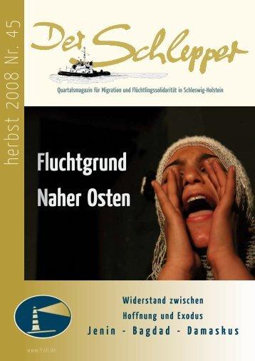 Gesamtausgabe - Flüchtlingsrat Schleswig-Holstein eV