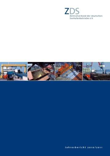 Jahresbericht 2010/2011 - Zentralverband der deutschen ...