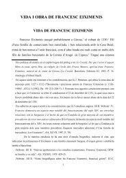 VIDA I OBRA DE FRANCESC EIXIMENIS - Antiblavers