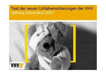 VHV Unfall Testsieger Stiftung Warentest - Fsb-dresden.de