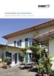 EHRET - Rollladen Kessler GmbH Holz