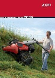 Combicut Aebi CC36 Technische Daten / les ... - Hilzinger AG