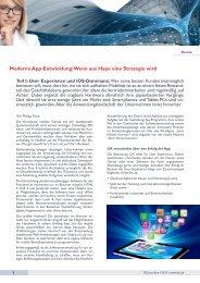 Moderne App-Entwicklung: Wenn aus Hype eine Strategie wird - FSS