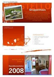 CASTELLO Gruppenhaus - CONTACT groups.ch
